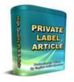 Thumbnail *NEW PLR* 62 Medicine Part1 PRL Article